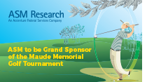 ASM to be Grand Sponsor of the Maude Memorial Golf Tournament