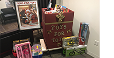 ASM Sponsors Toys for Tots Toy Collection